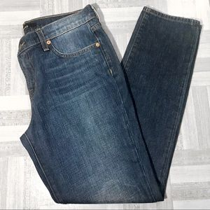 J Brand Aidan Ringer Dark Wash Jeans Size 27